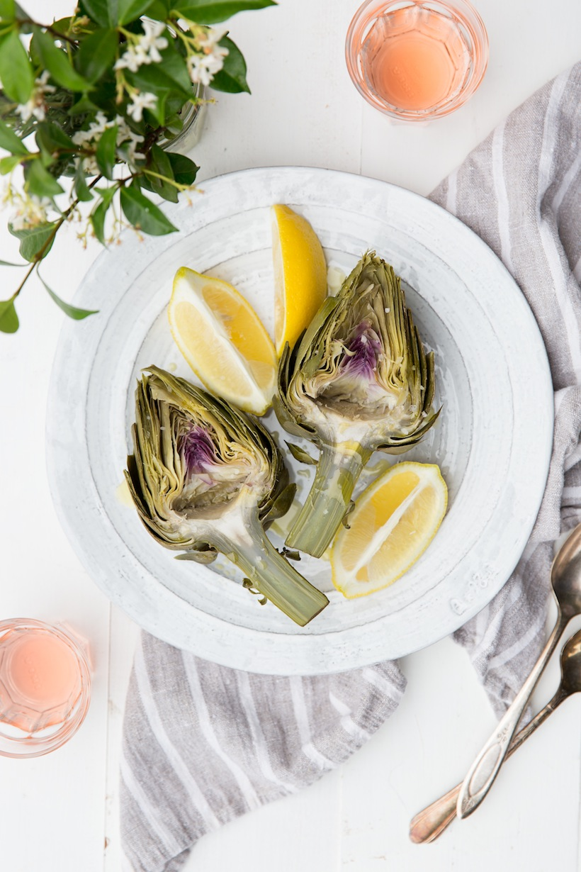 Boiling fresh artichokes may just be the easiest way to prepare them