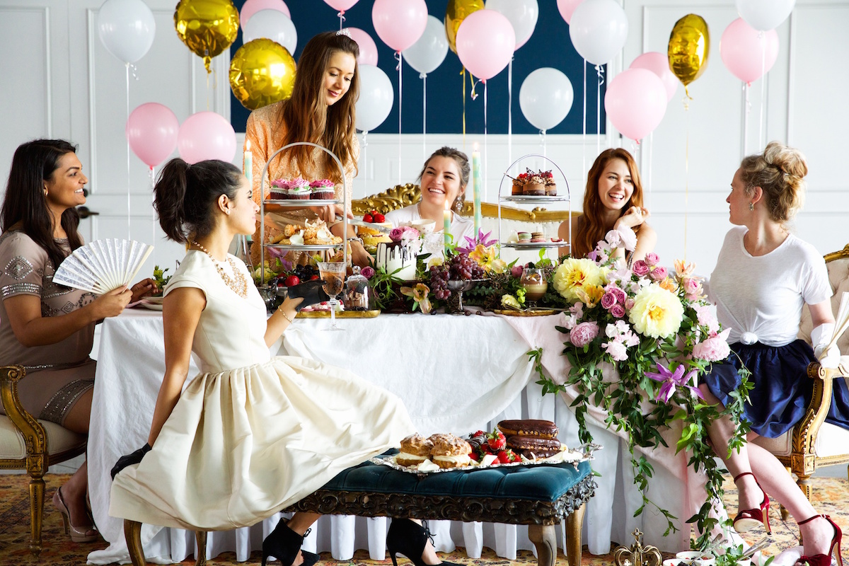 dreamiest. bridal shower. ever.