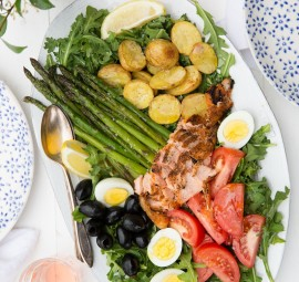 Nicoise salad may be one of the easiest salads to prepare
