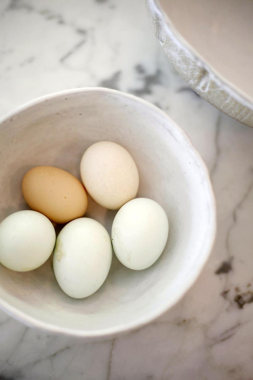 هیچ چیز مانند تخم مرغ تازه برای صبحانه نیست