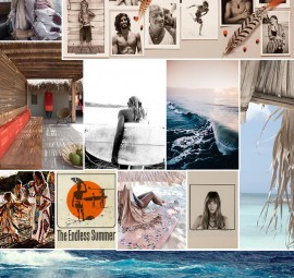 Pretty Surfing Inspiration Board