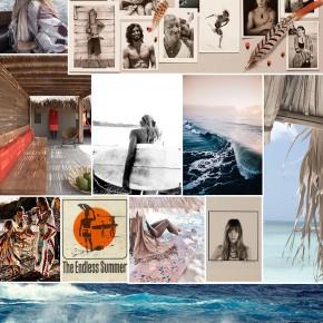 Pretty Surfing Inspiration Board