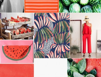inspired by watermelon