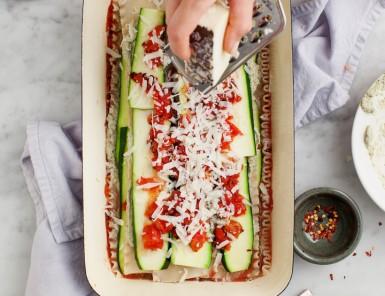 Yummy Vegan Zucchini Lasagna With Ricotta
