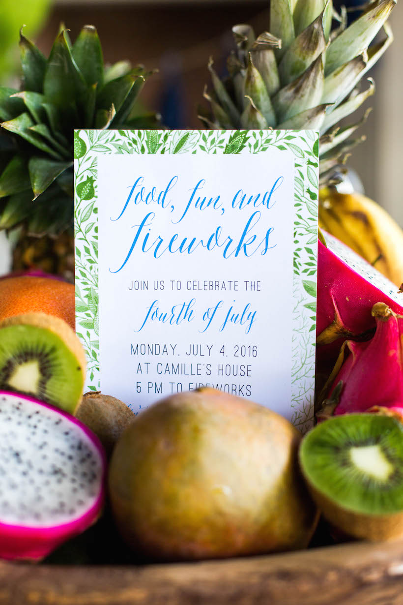 How to host a tropical Fourth of July party
