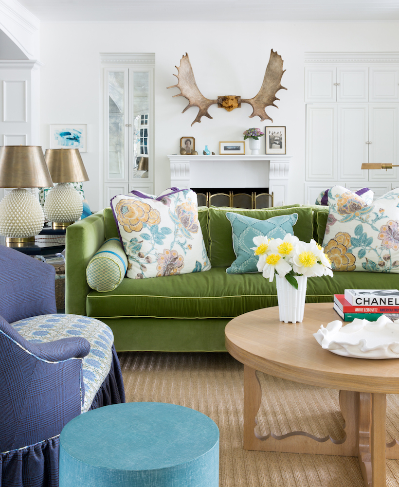 Kristin Gish Home Tour: Colorful Wallpaper Bungalow in Austin, Texas