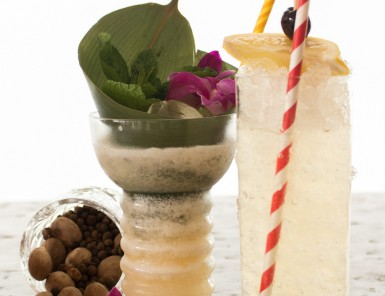 Two amazing craft tiki cocktails