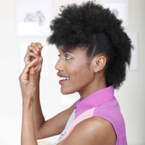 """""""Faux Hawk"""" hair style... totally want to try this."""
