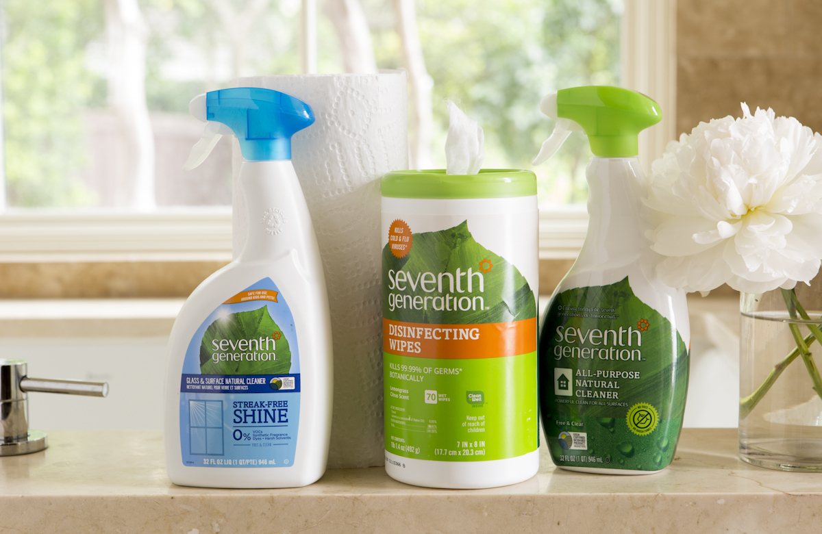 seventh generation natural cleaning products