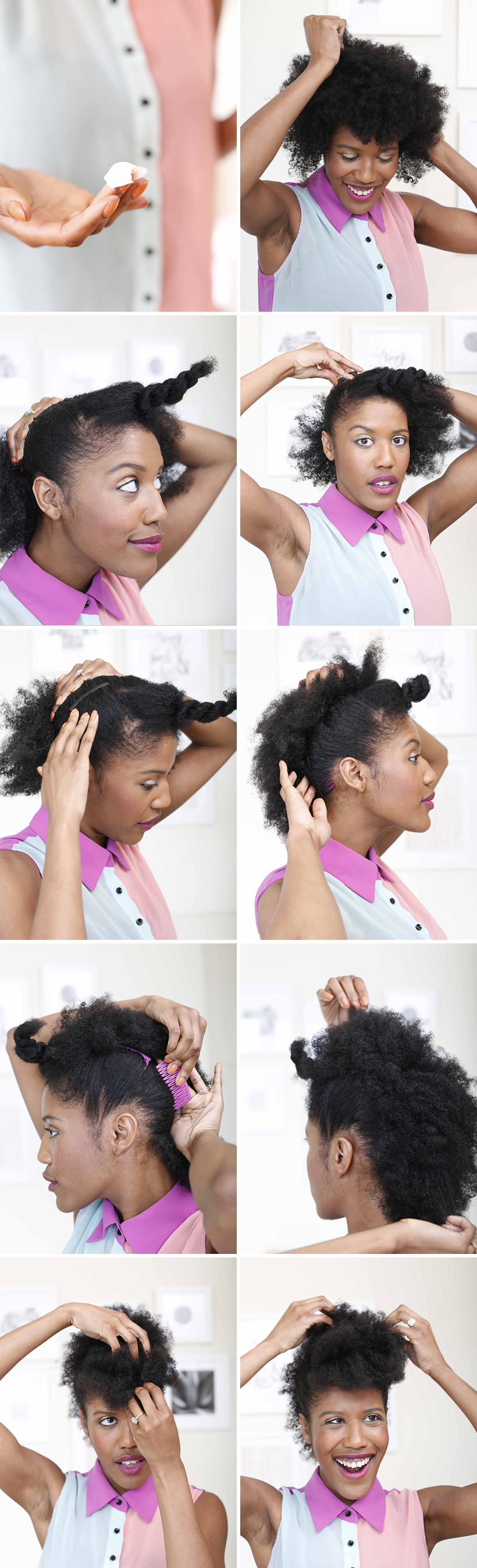 How To Rock A Faux Hawk Camille Styles