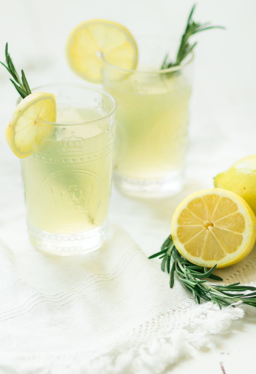 Three Herb-Infused Lemonades - Rosemary, Lavender, and Ginger Mint!