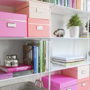super organized workspace