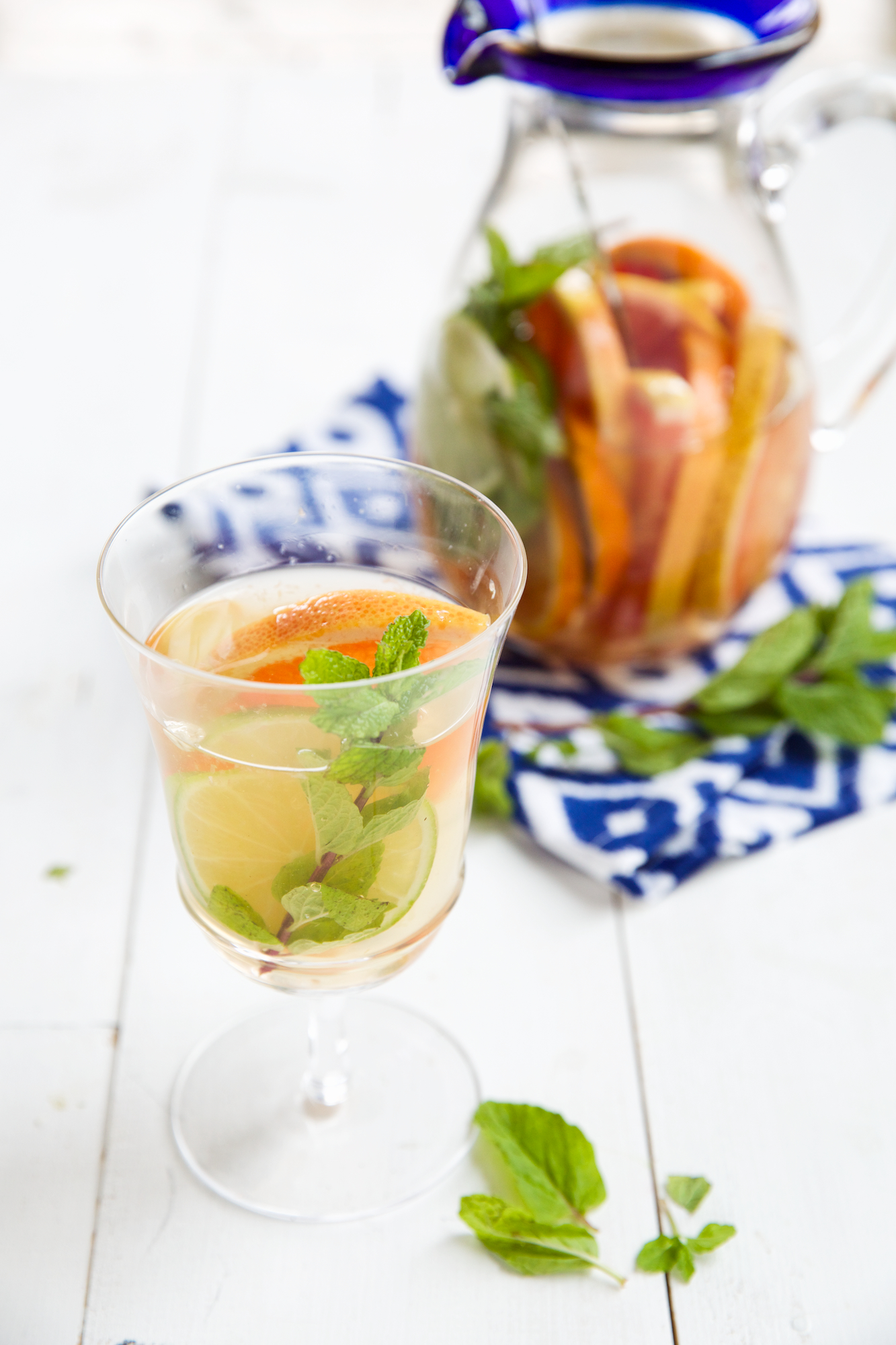 Citrus-Mint Sangria