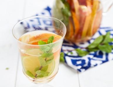 amazing citrus mint sangria recipe