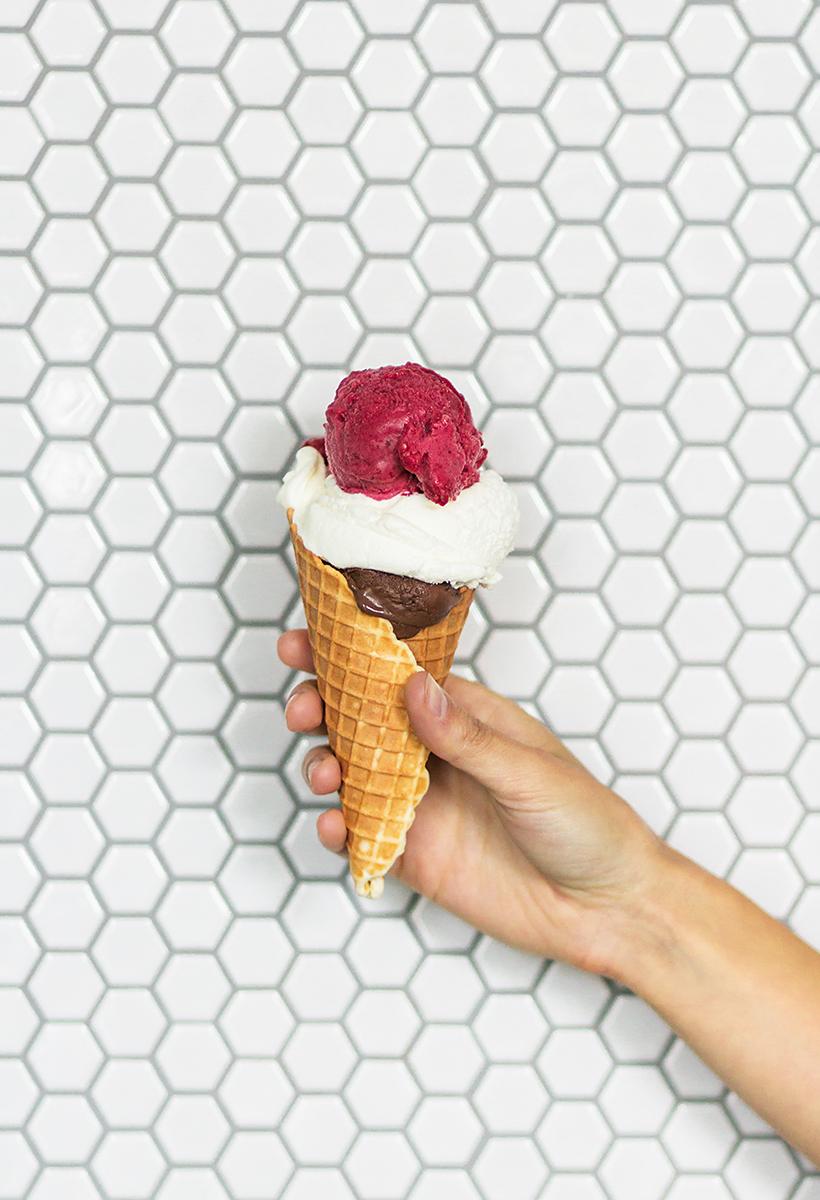 The best gelato -- Gelateria Gemelli in Austin, TX!