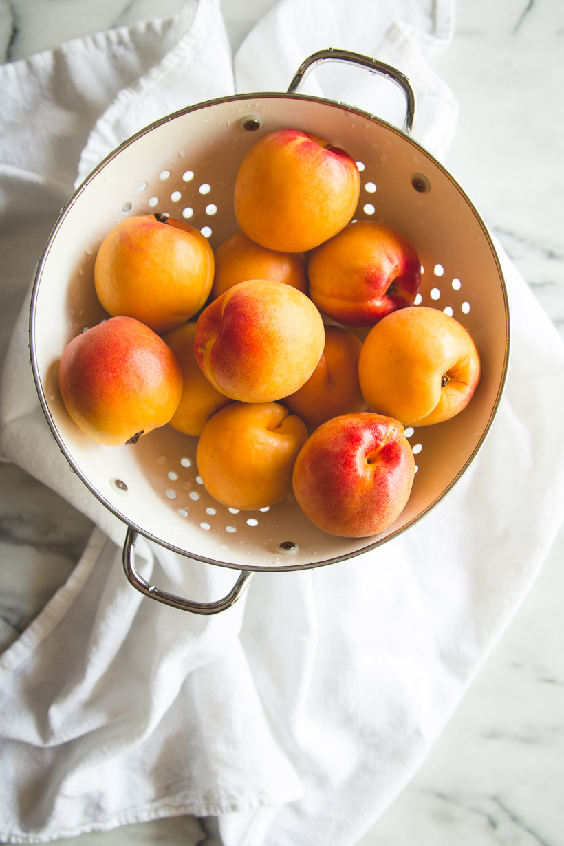 Simple Roasted Apricots With Honey Mascarpone Recipe ...