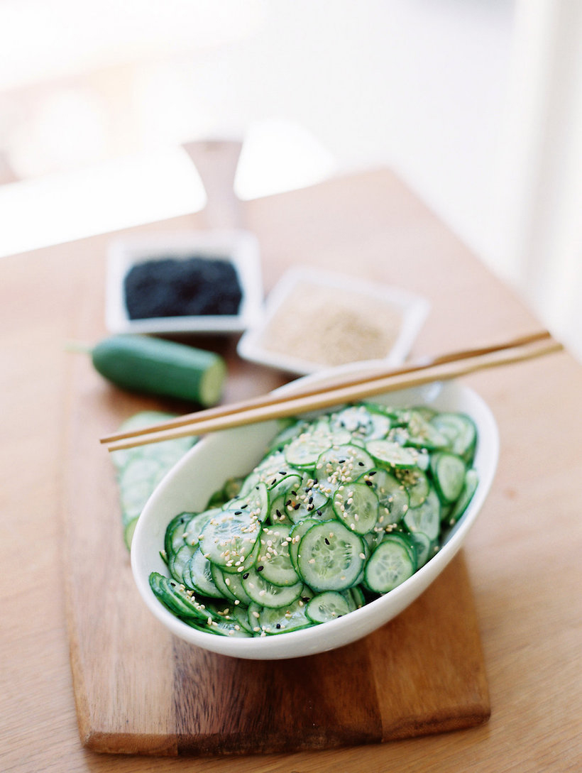No-Cook Dinner Party Recipes -- Asian Cucumber Salad