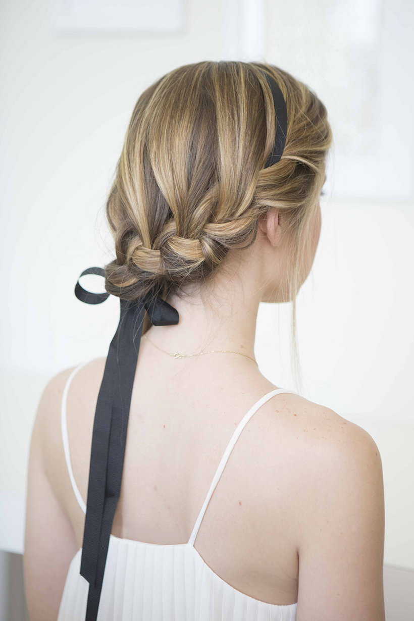 3 Ways To Wear A Black Ribbon Camille Styles