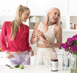 Entertaining with Sakara -- Spicy Rosarita Cocktail