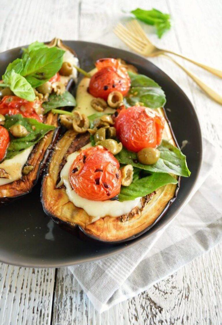 paleo eggplant toast