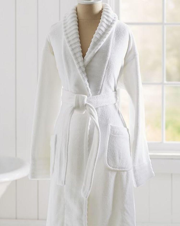 classic terry cloth robe