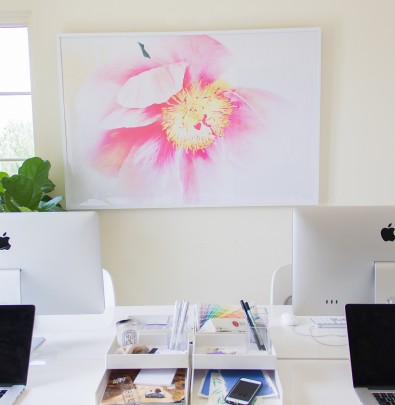 floral art print by ashley woodson bailey