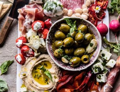 Mediterranean Antipasto Platter