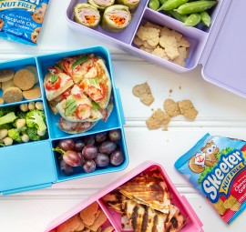 Fun kids lunches -- mexican, italian, & asian