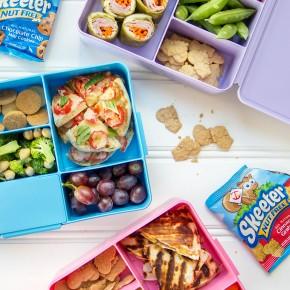 Fun kids lunches -- mexican, italian, & asian