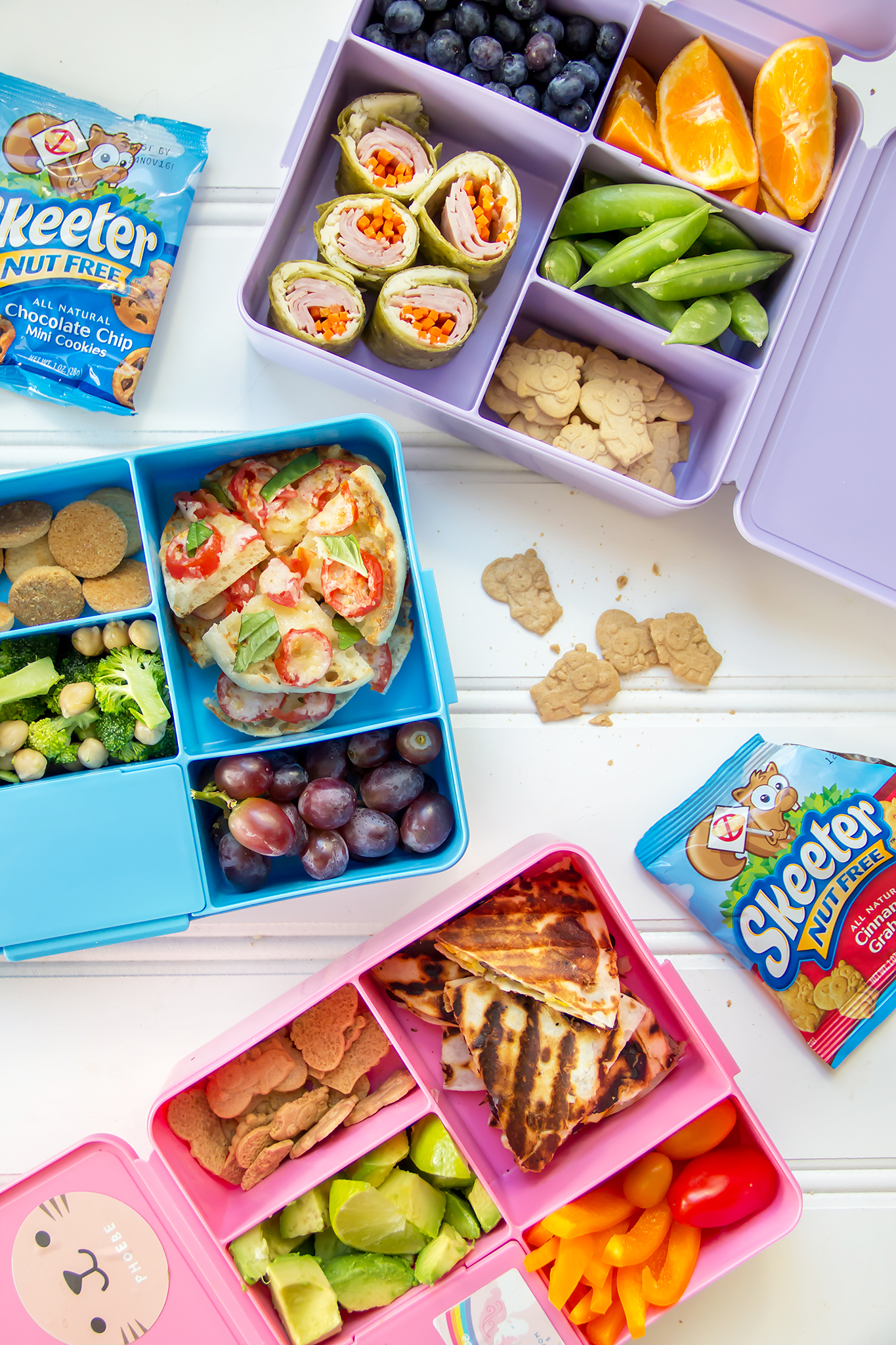 3 Easy Back-To-School Lunch Ideas - Camille Styles