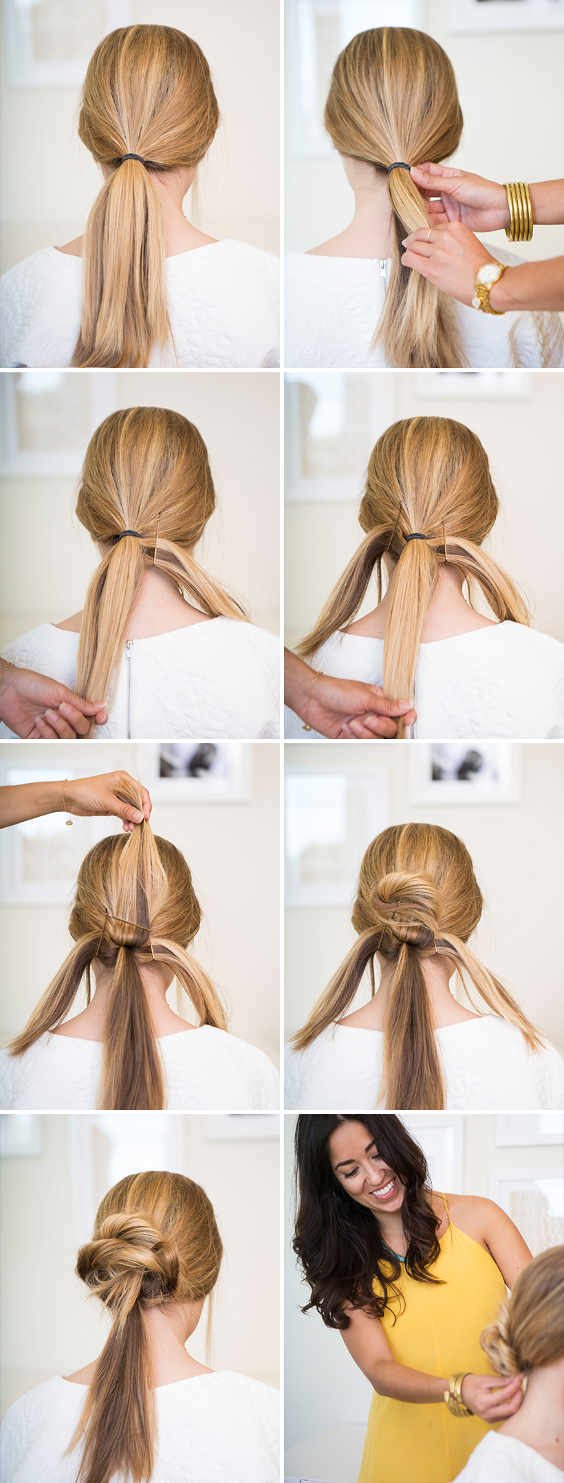 How to: Loose Low Bun