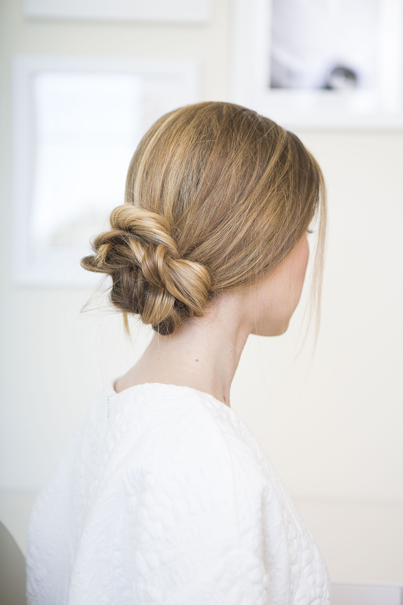 Nailing The Perfectly Loose Low Bun - Camille Styles