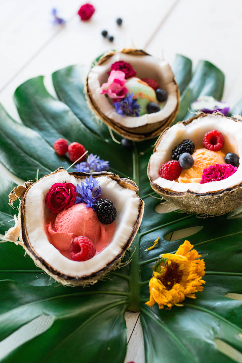 how to make a coconut bowl - click through for the step-by-step video!