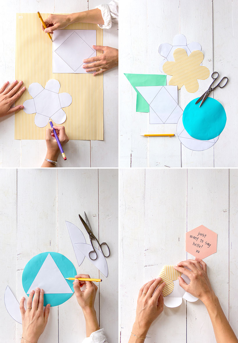how to fold your own geometric envelopes