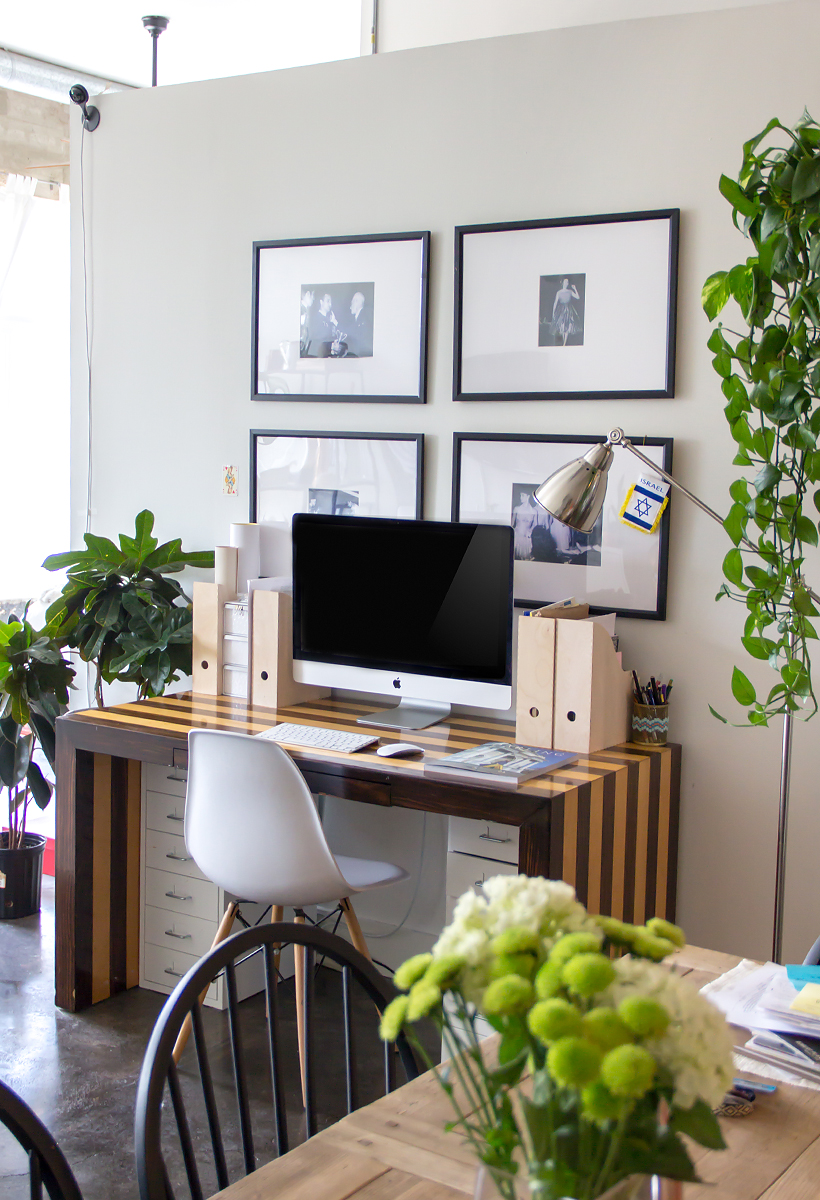 """before"" this office space got an epic makeover"