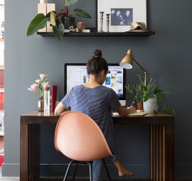 stunning home office makeover