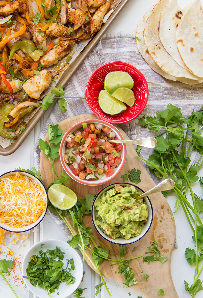 5-Ingredient Sheet Pan Fajitas