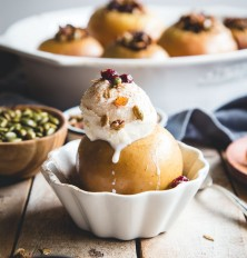Autumn-Spiced Stuffed Baked Apples
