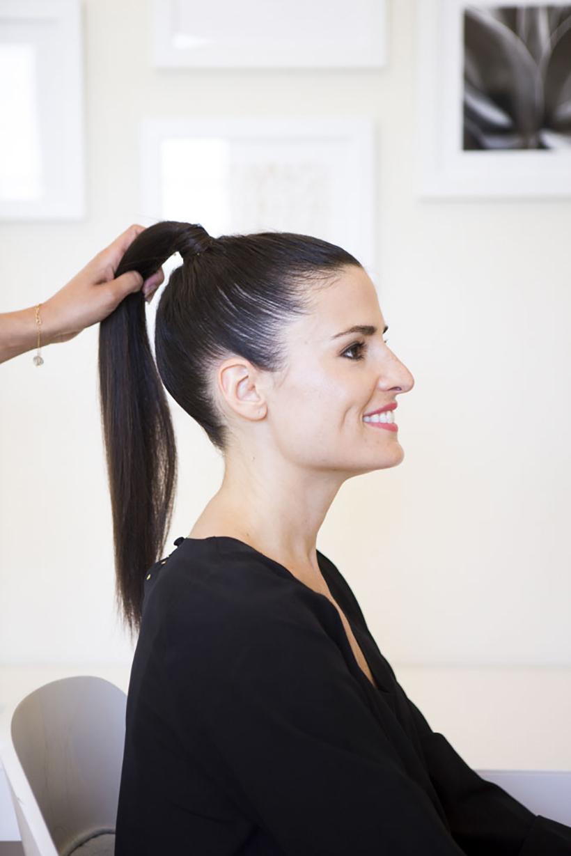 Slicked Back Hair Style by stevesalt.us