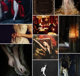 Dark and Moody Paris Inspiration Board