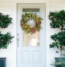gorgeous DIY fall wreath