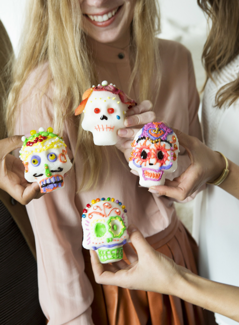 Make and Decorate Your Own Sugar Skulls