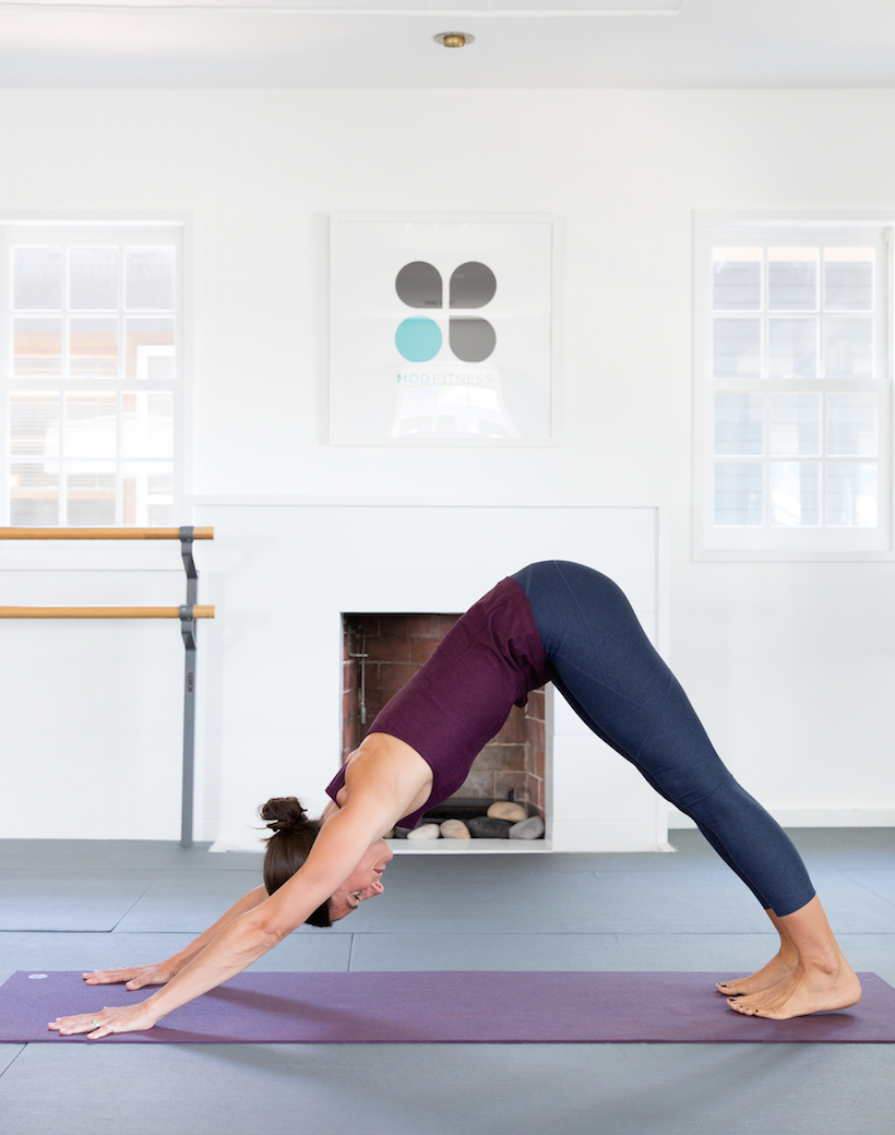 Downward Facing Dog - and 5 other yoga moves that promote calmness