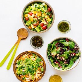 recipe for the perfect salad vinaigrette