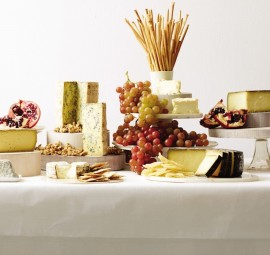 the most jaw-dropping cheese display