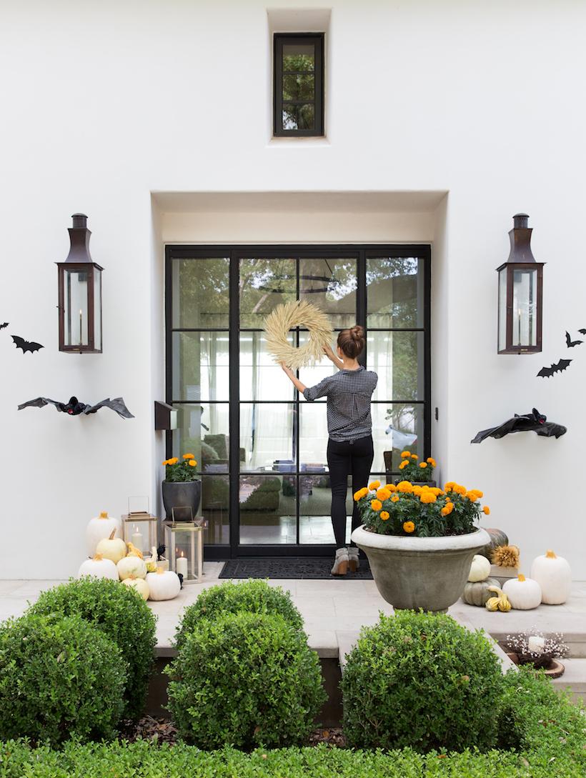 porche de halloween