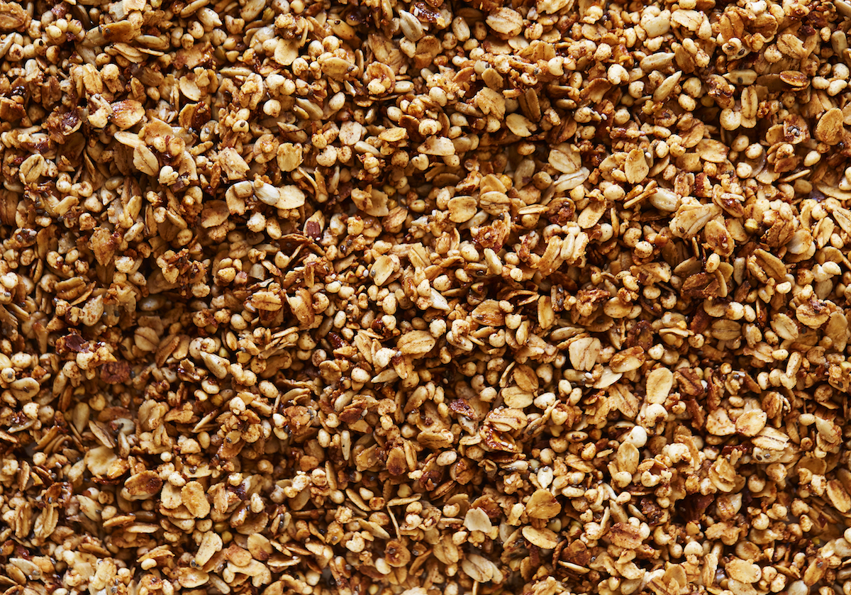whole wheat granola