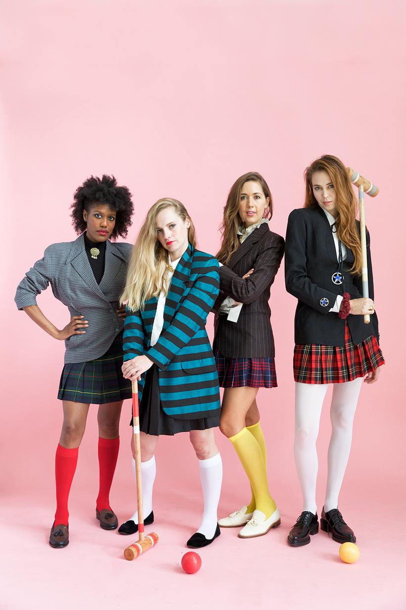 Awesome group costume idea HEATHERS!  sc 1 st  Camille Styles & Heathers Group Costume - Camille Styles