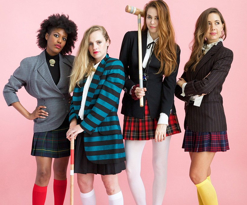 Awesome group costume idea: HEATHERS!