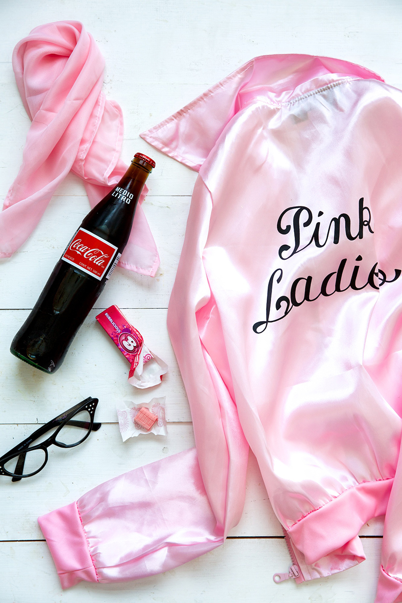 Best group costume ideas! Pink Ladies!